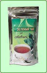 Зеленый чай со стевией и чабрецом