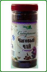 Чаговый чай Сибирский (гриб чага) 90г
